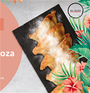 Foto NEW! Apple gyoza 4st