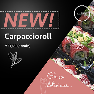 Foto Carpaccio roll